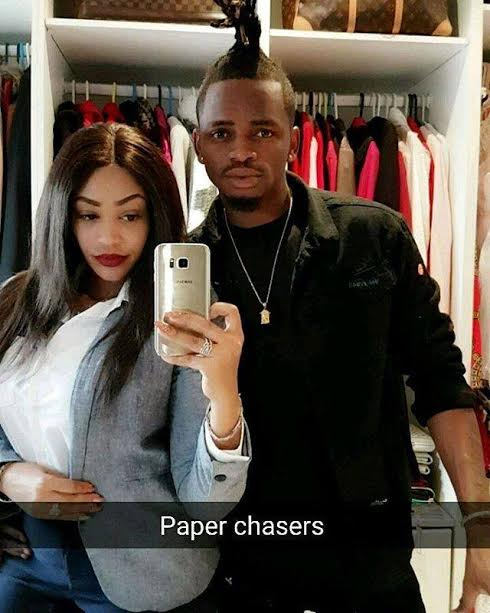 Ugandan Socialite Zari Hassan And Her Tanzanian Boyfriend Diamond Platnumz The Husband Was Called In By Police Over Drugs