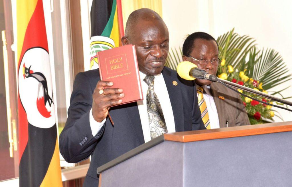 Gen. Katumba Wamala swears in as Minister - Eagle Online
