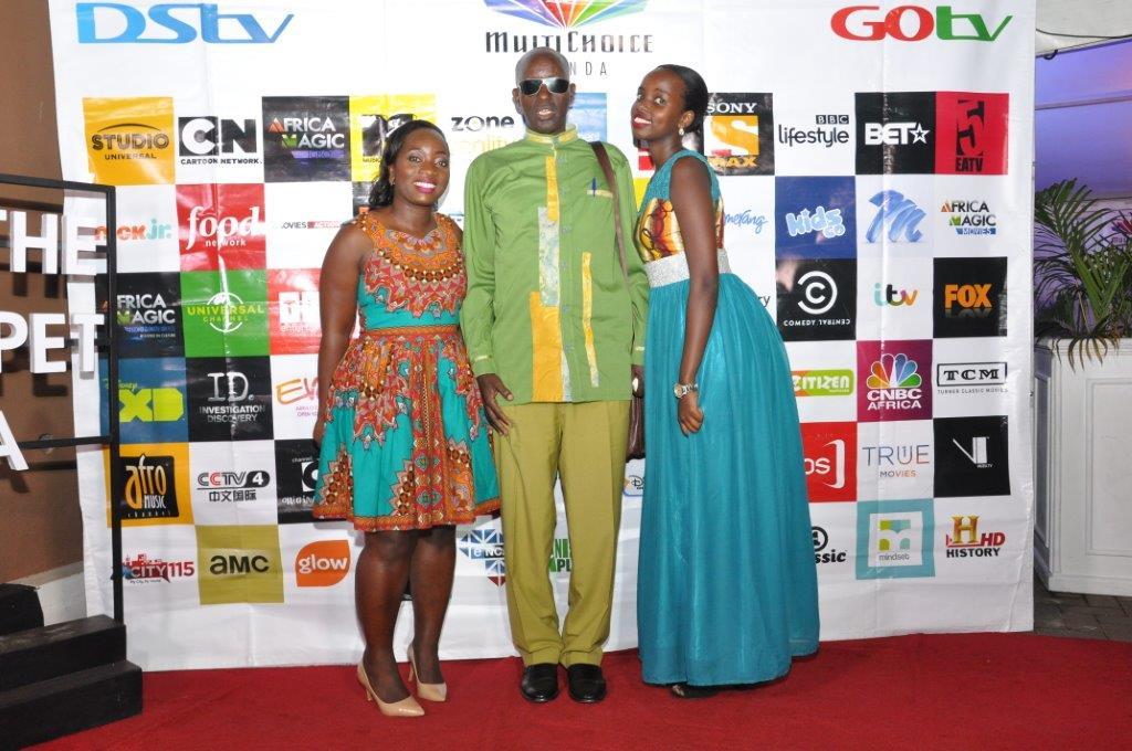 Tina Wamala (L) PR Manager MultiChoice Uganda poses with