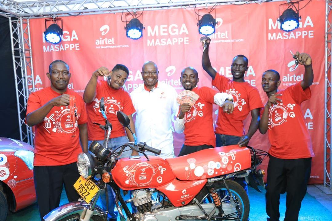 Three win Airtel Mega Masappe promotion cash prizes - Eagle
