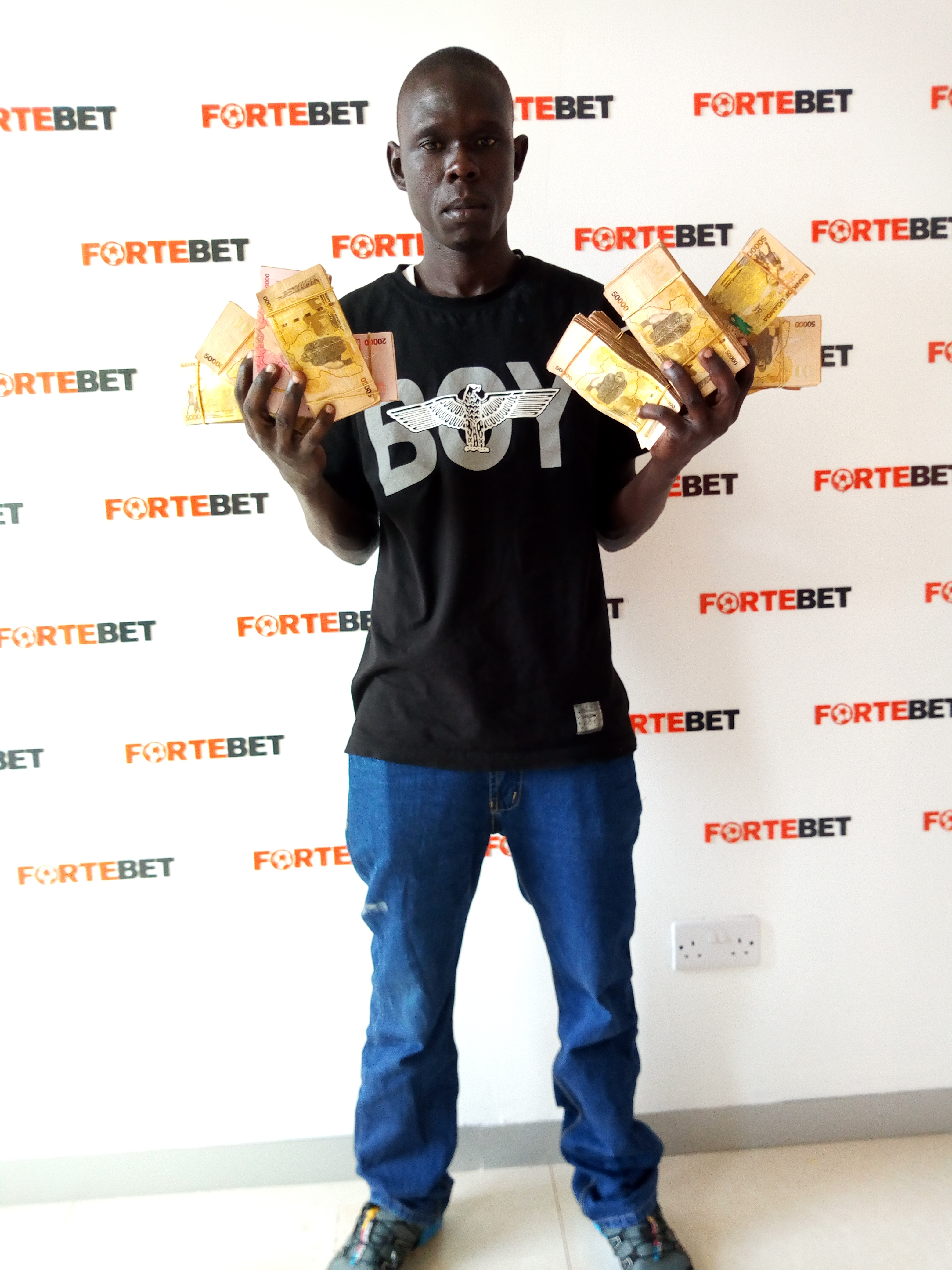 Image result for fortebet arua winner