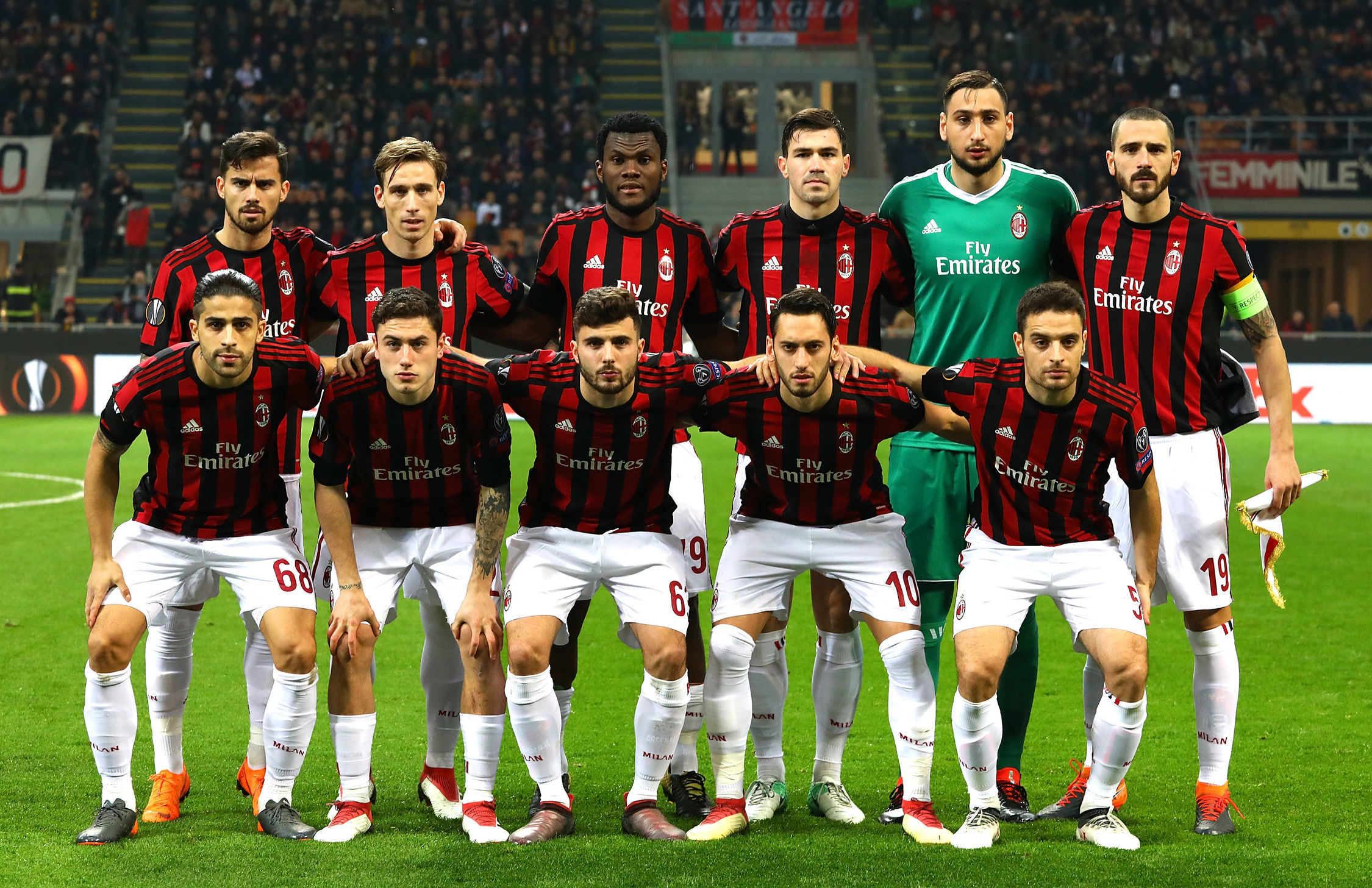 UEFA bans AC Milan from European competitions for two ...