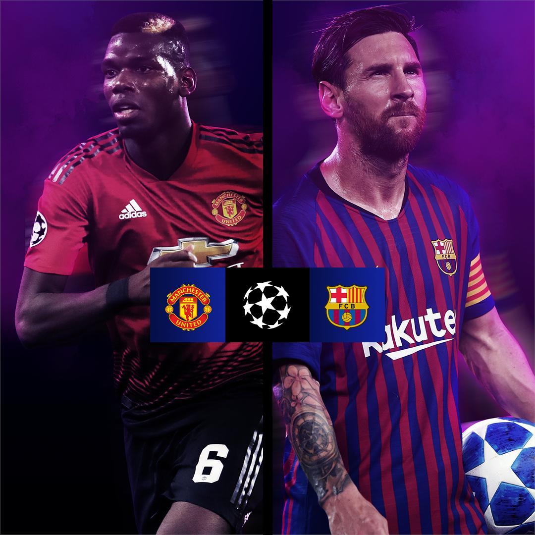 Barcelona Manchester