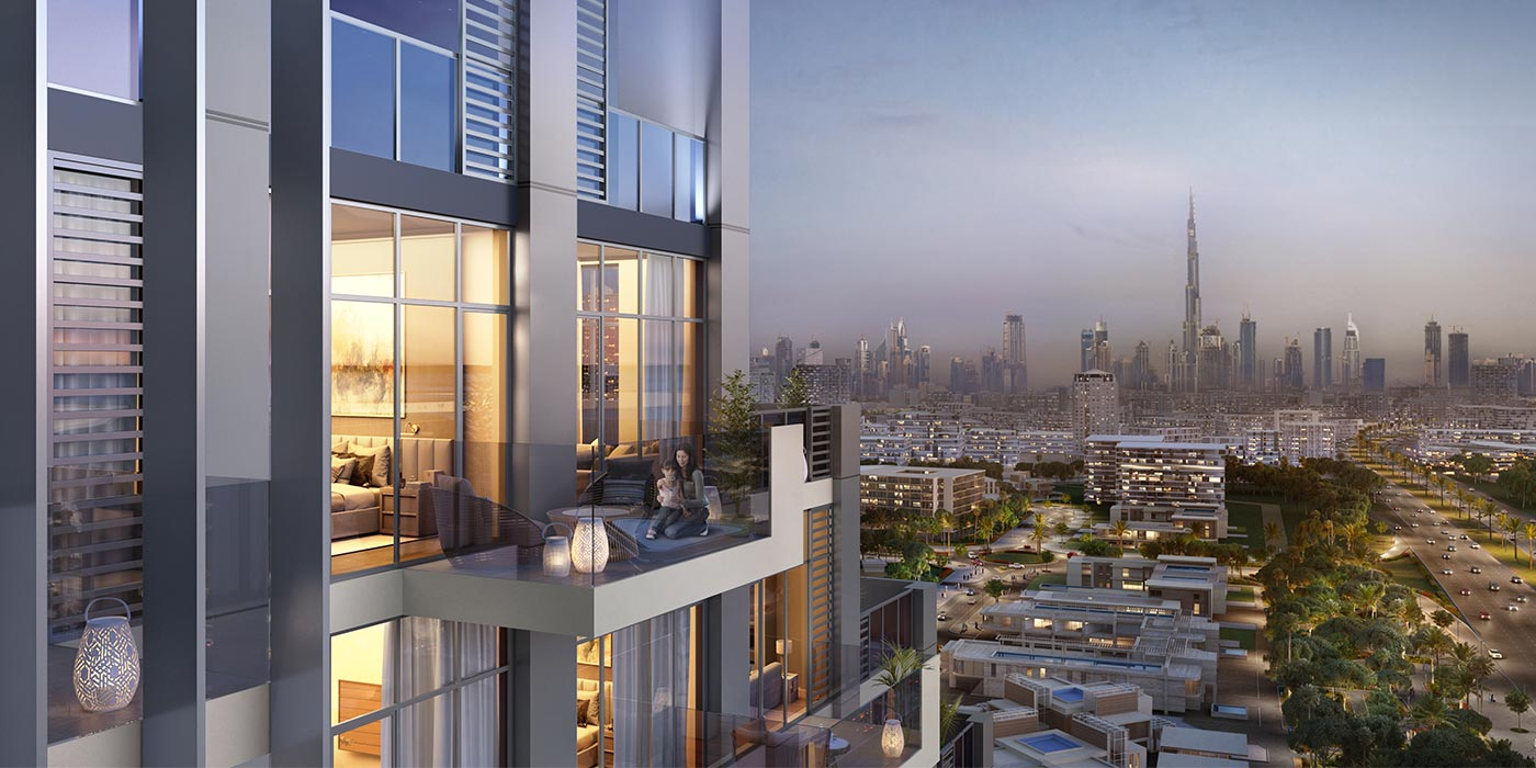Image result for Properties in the Emirate of Dubai Azizi project