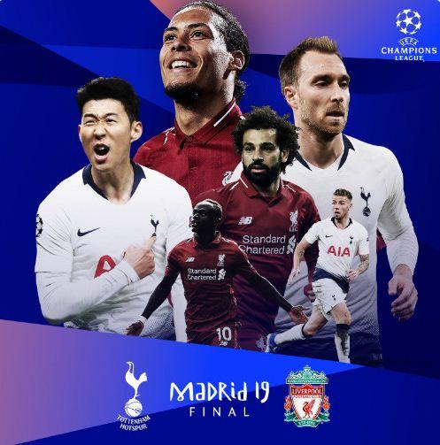2019 Champions League Final: Tottenham Hotspur Vs